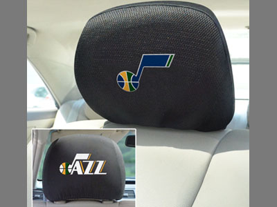 Utah Jazz Head Rest Covers