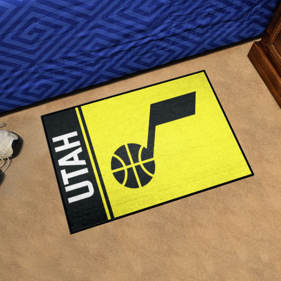 Utah Jazz 20 x 30 Uniform Inspired Starter Rug
