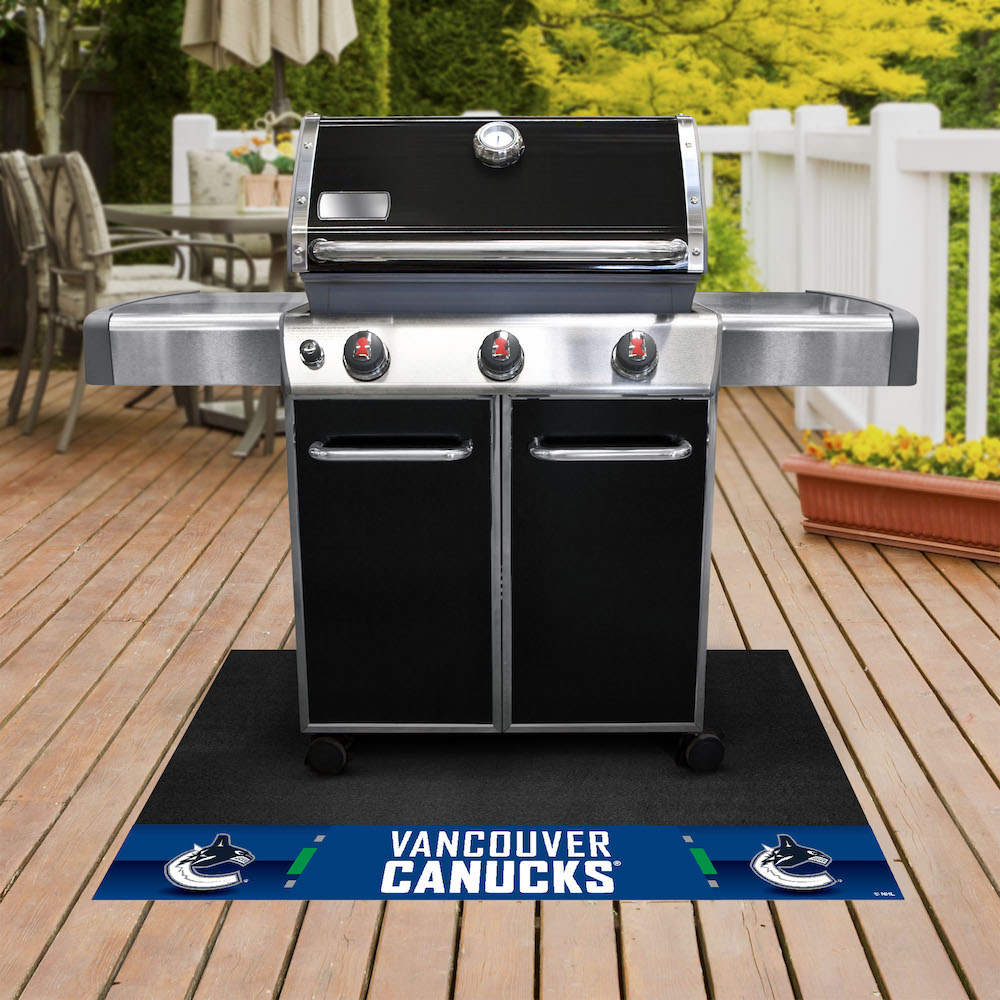 Vancouver Canucks NHL Grill Mat