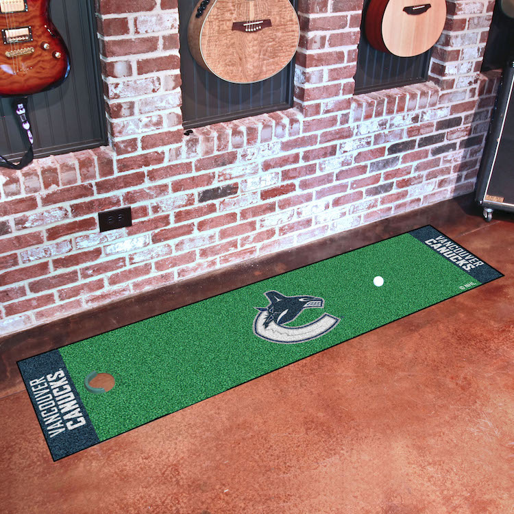 Vancouver Canucks Putting Green Mat 18 x 72