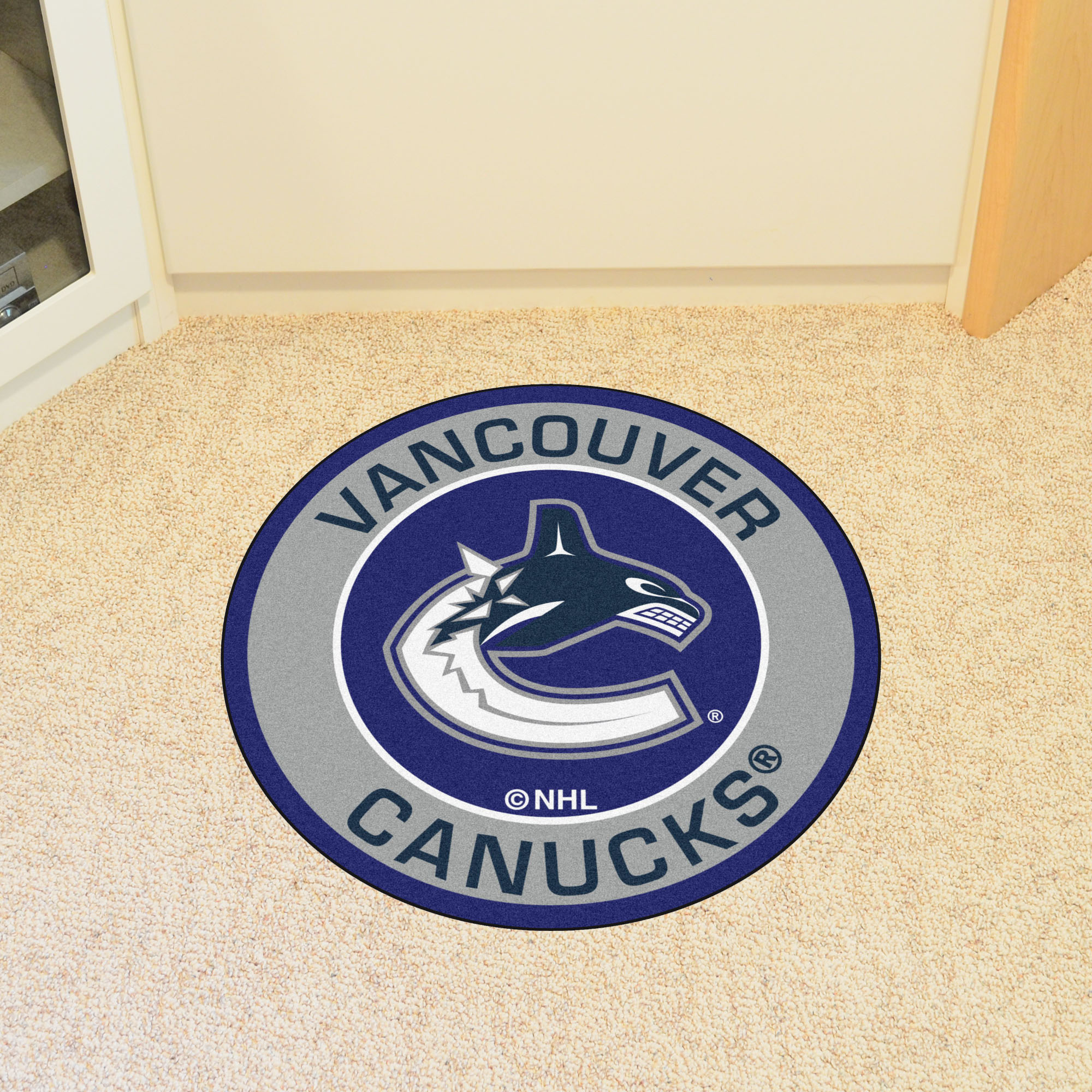 Vancouver Canucks Roundel Mat