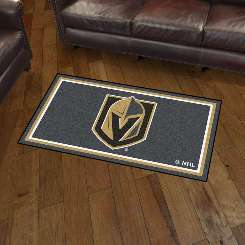 Vegas Golden Knights 3x5 Area Rug