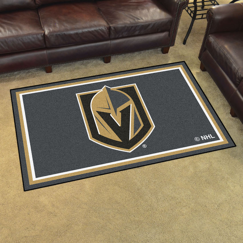 Vegas Golden Knights 4x6 Area Rug