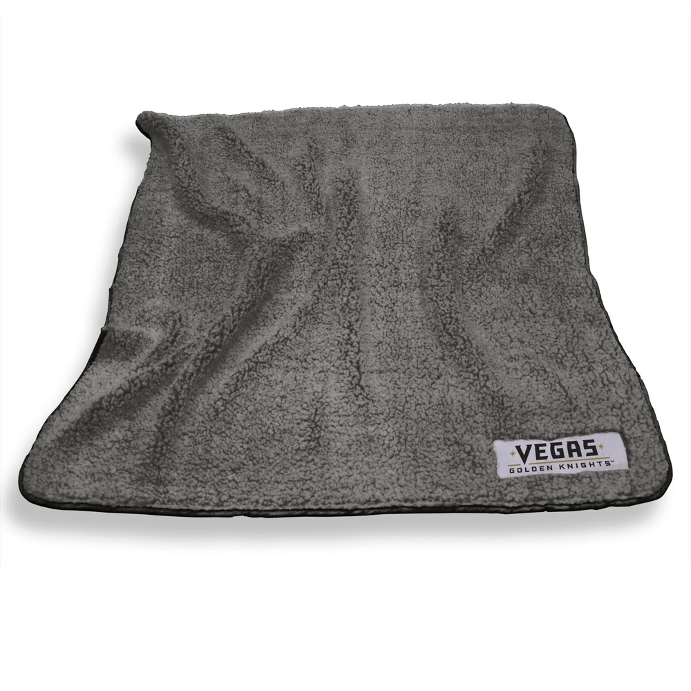 Vegas Golden Knights Color Frosty Throw Blanket