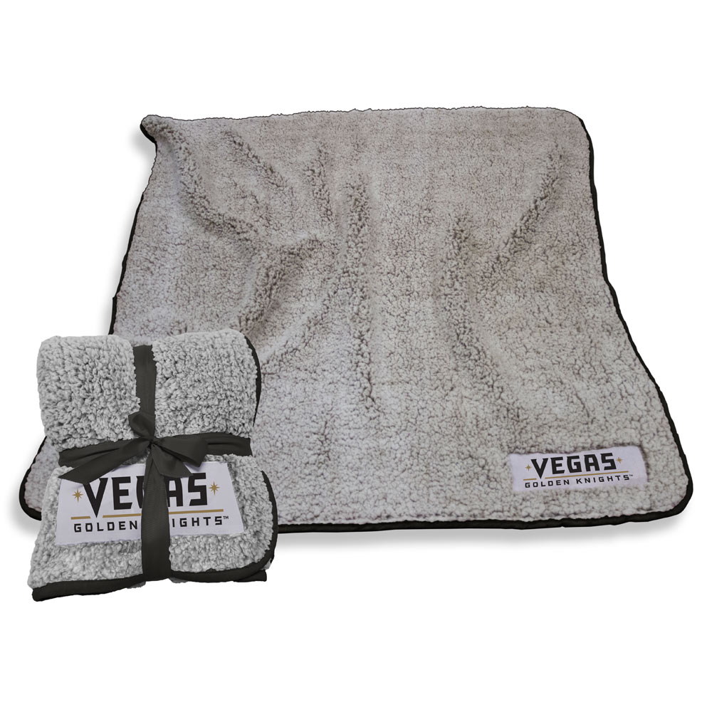 Vegas Golden Knights Frosty Throw Blanket