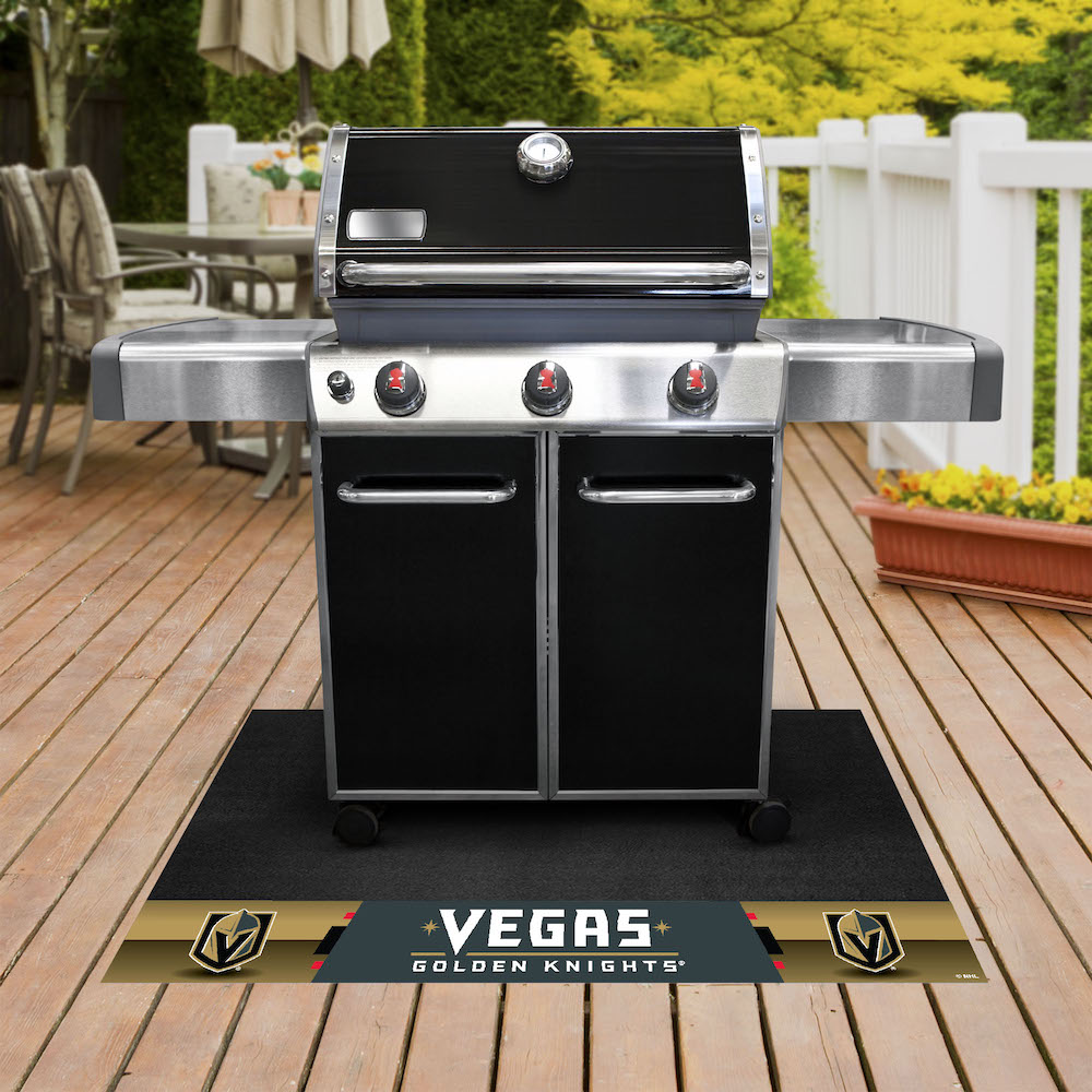 Vegas Golden Knights NHL Grill Mat