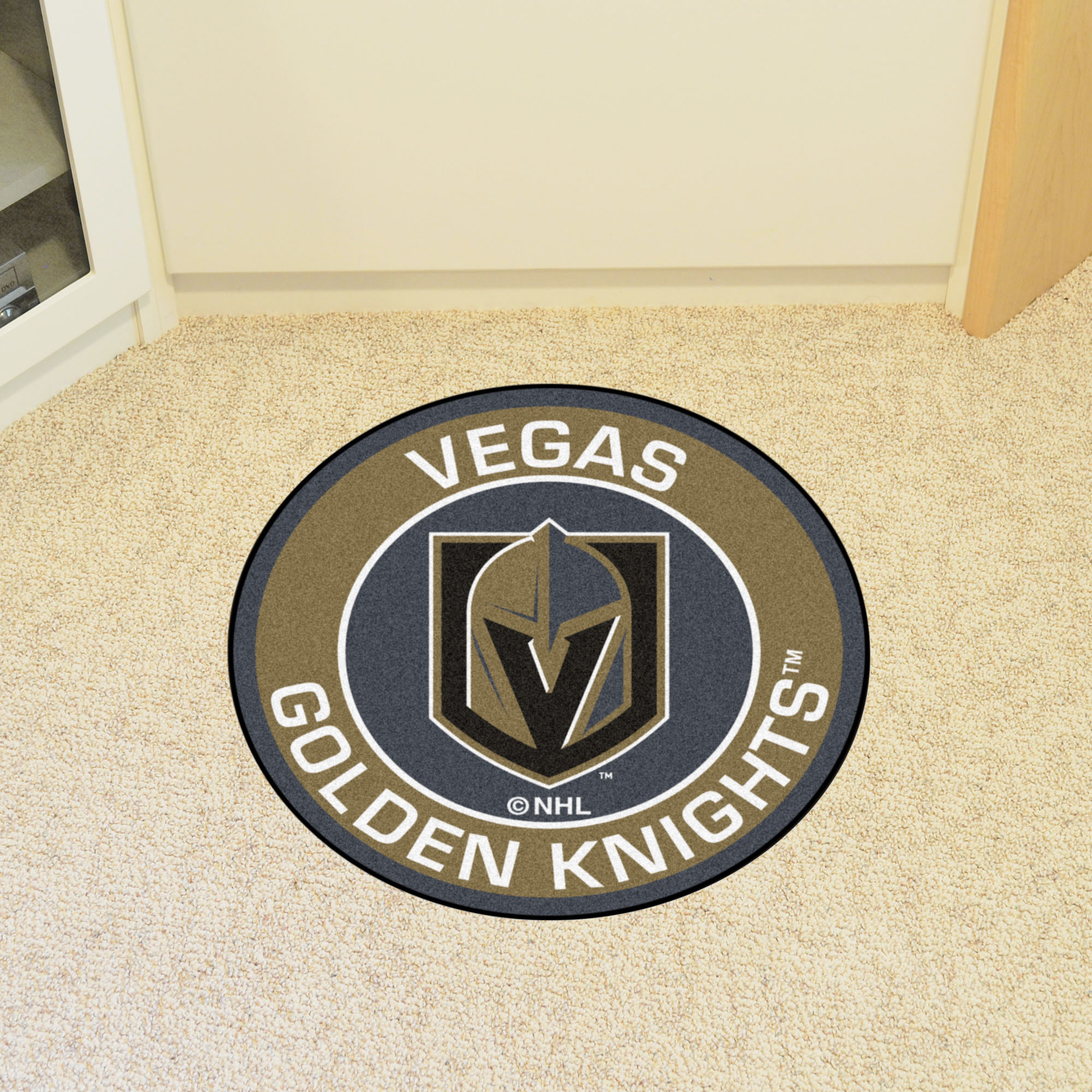 Vegas Golden Knights Roundel Mat