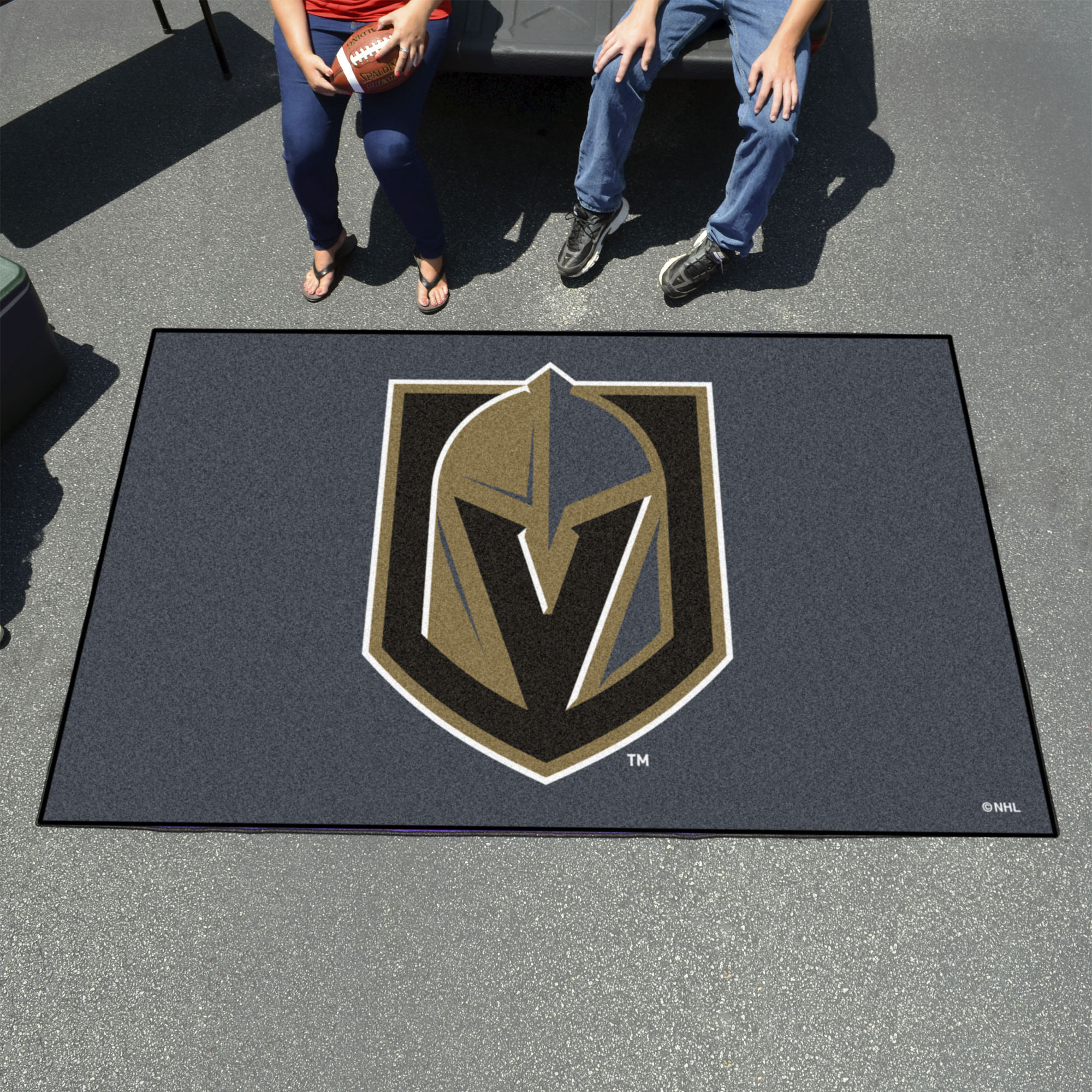 Vegas Golden Knights Tailgater 60 X 96 Rug Buy At Khc Sports