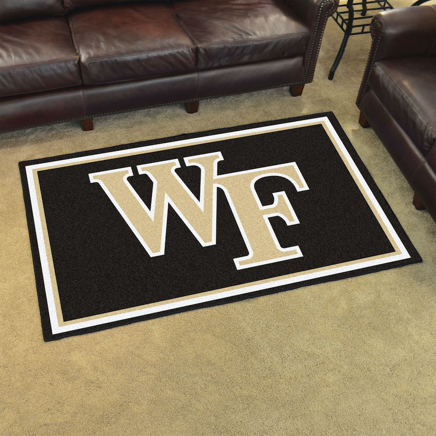Wake Forest Demon Deacons 4x6 Area Rug