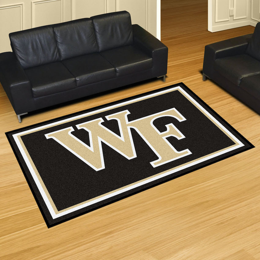Wake Forest Demon Deacons 5x8 Area Rug