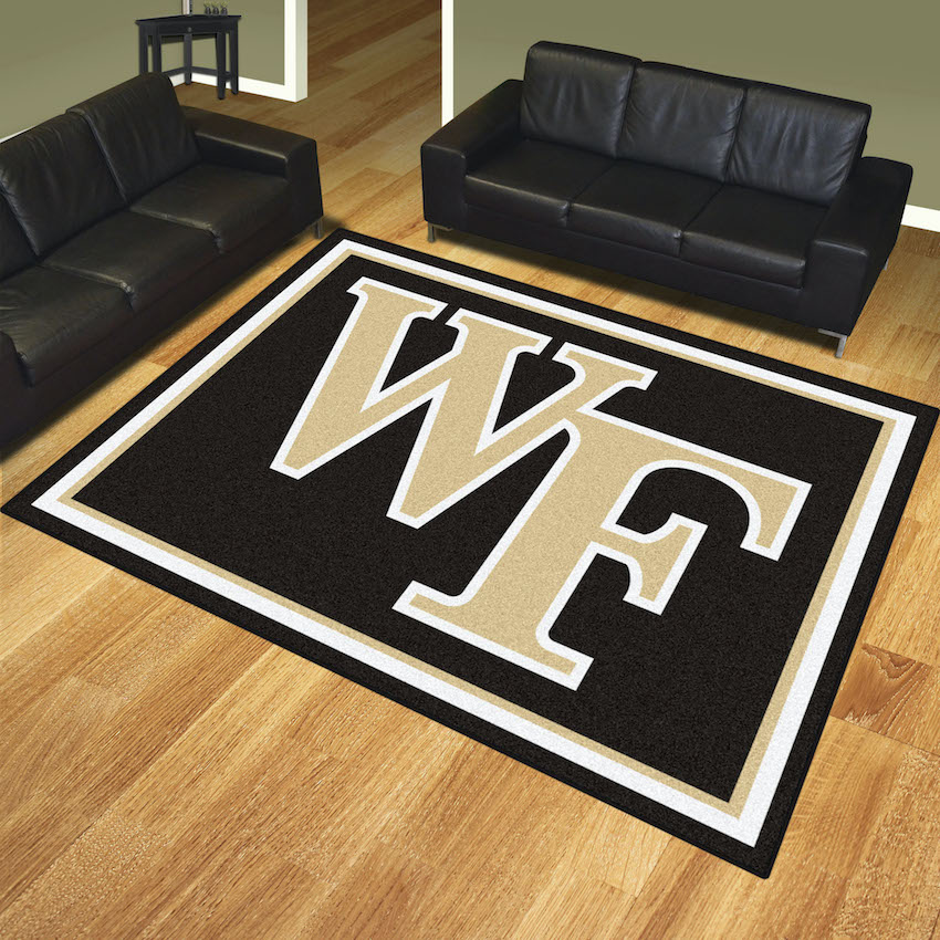 Wake Forest Demon Deacons Ultra Plush 8x10 Area Rug