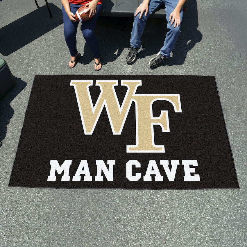 Wake Forest Demon Deacons UTILI-MAT 60 x 96 MAN CAVE Rug