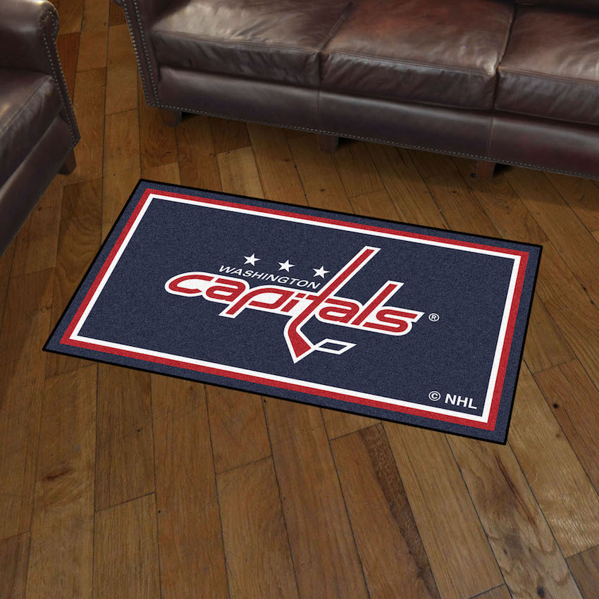 Washington Capitals 3x5 Area Rug