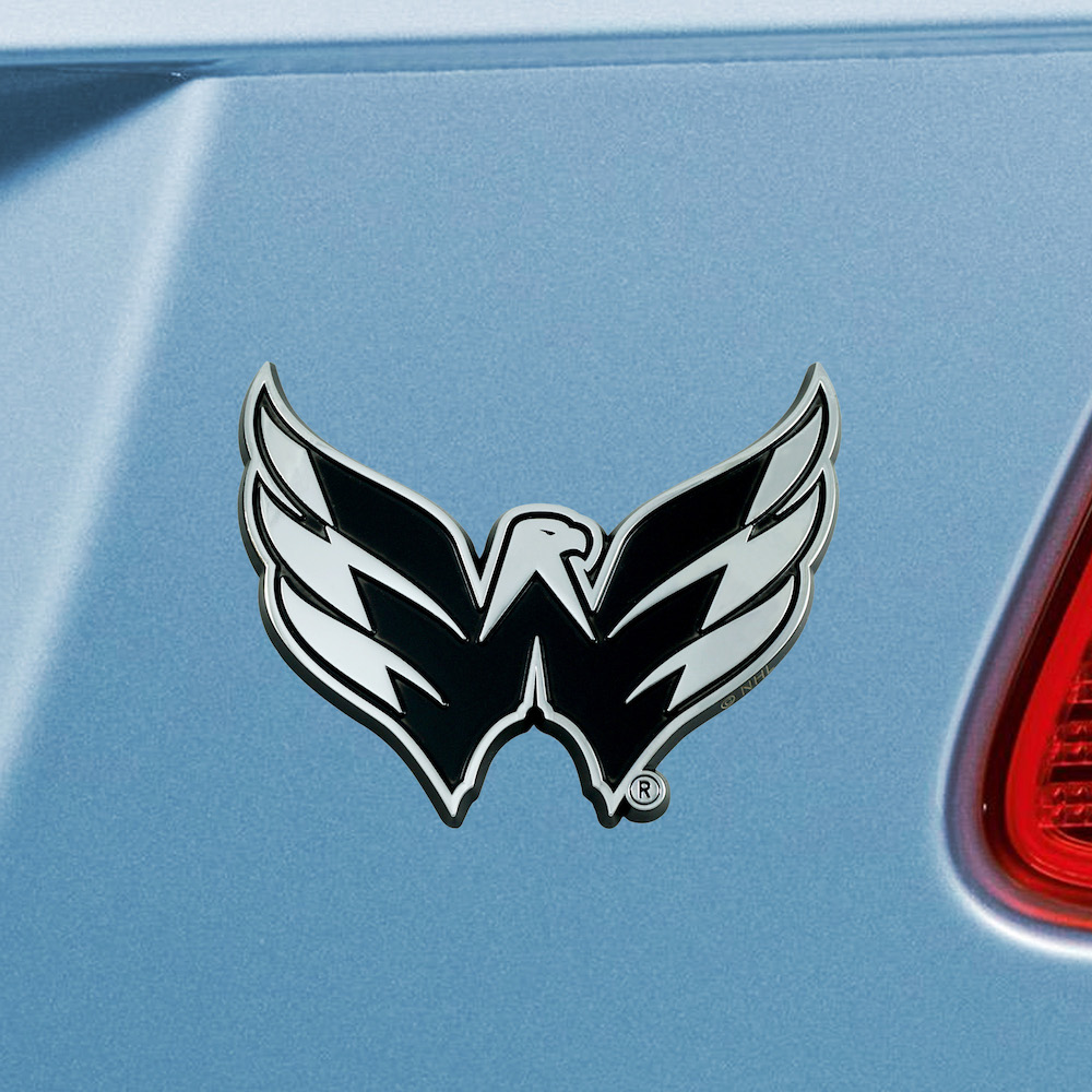 Washington Capitals Metal Auto Emblem