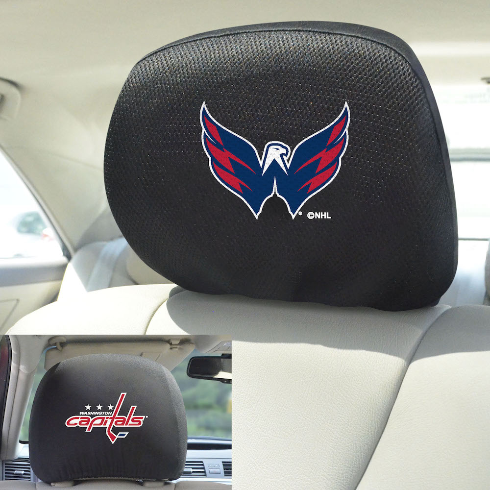 Washington Capitals Head Rest Covers