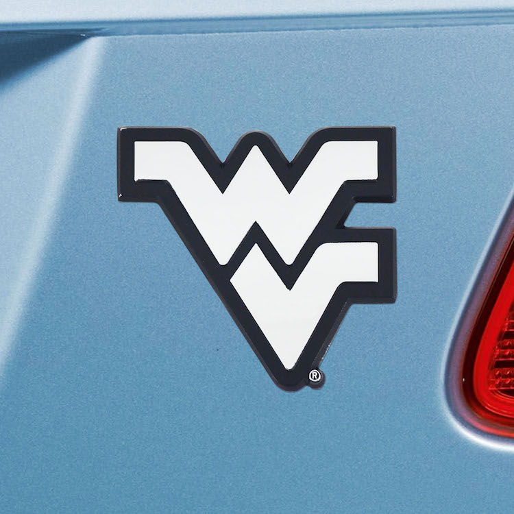 West Virginia Mountaineers Metal Auto Emblem - Buy at KHC ...