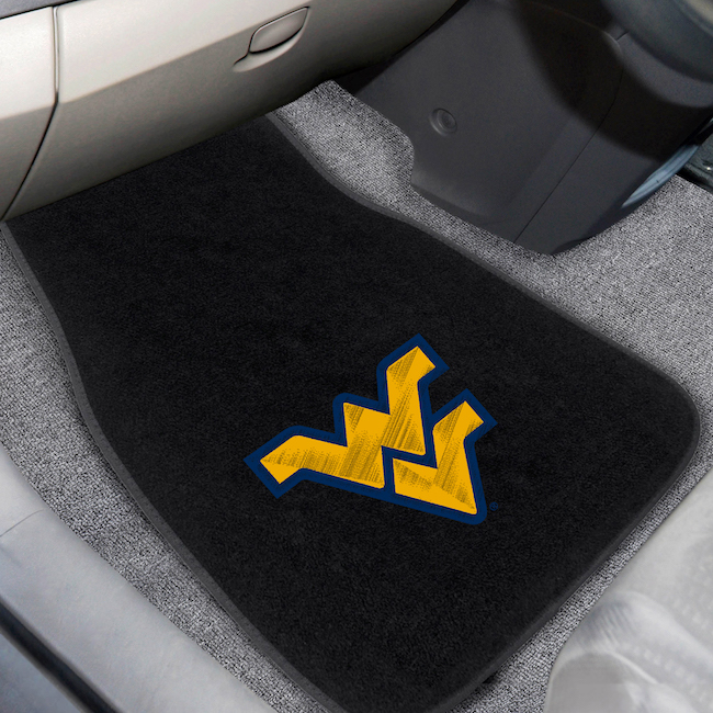 West Virginia Mountaineers Embroidered Car Floor Mats