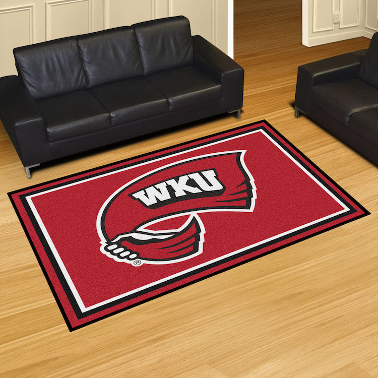 Western Kentucky Hilltoppers 5x8 Area Rug