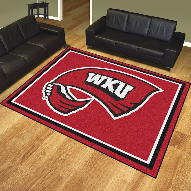 Western Kentucky Hilltoppers Ultra Plush 8x10 Area Rug