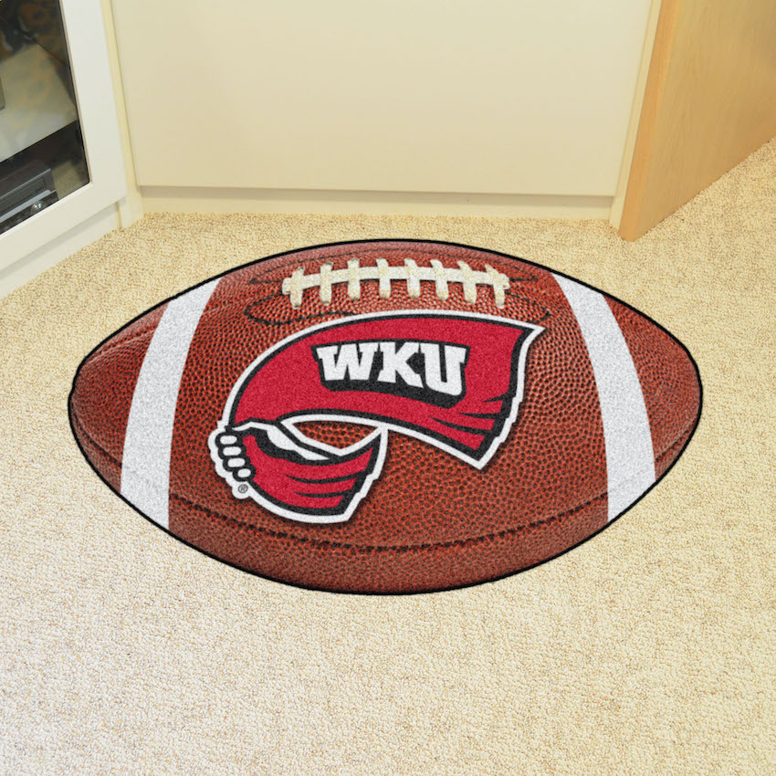 Western Kentucky Hilltoppers 22 x 35 FOOTBALL Mat