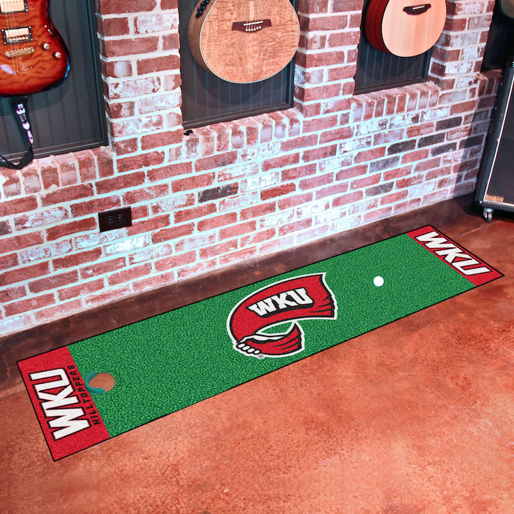 Western Kentucky Hilltoppers Putting Green Mat 18 x 72