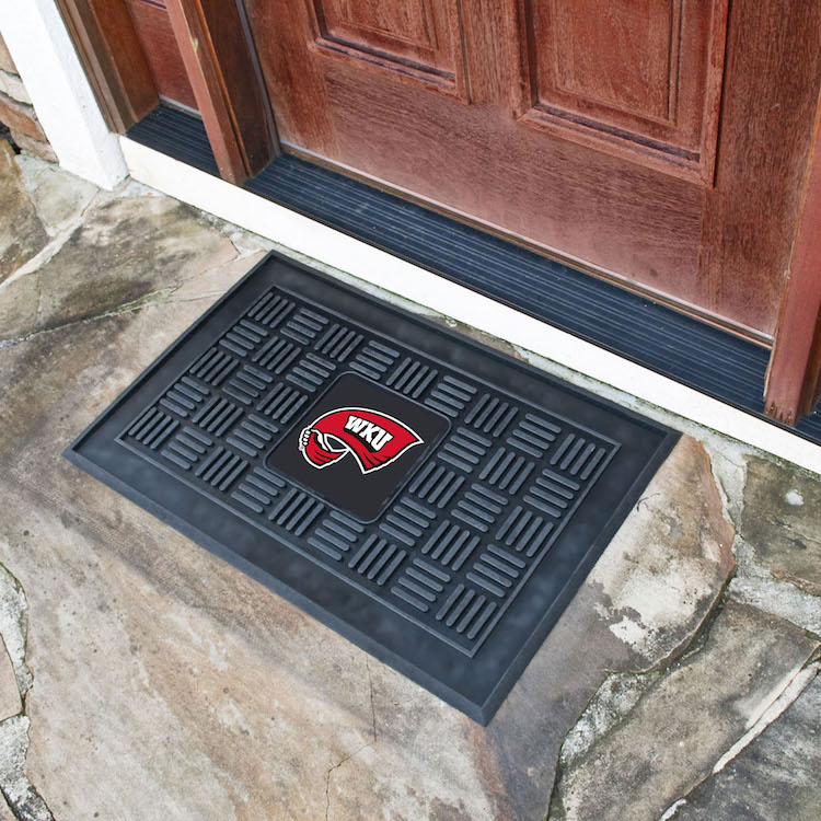 Western Kentucky Hilltoppers MEDALLION Vinyl Door Mat