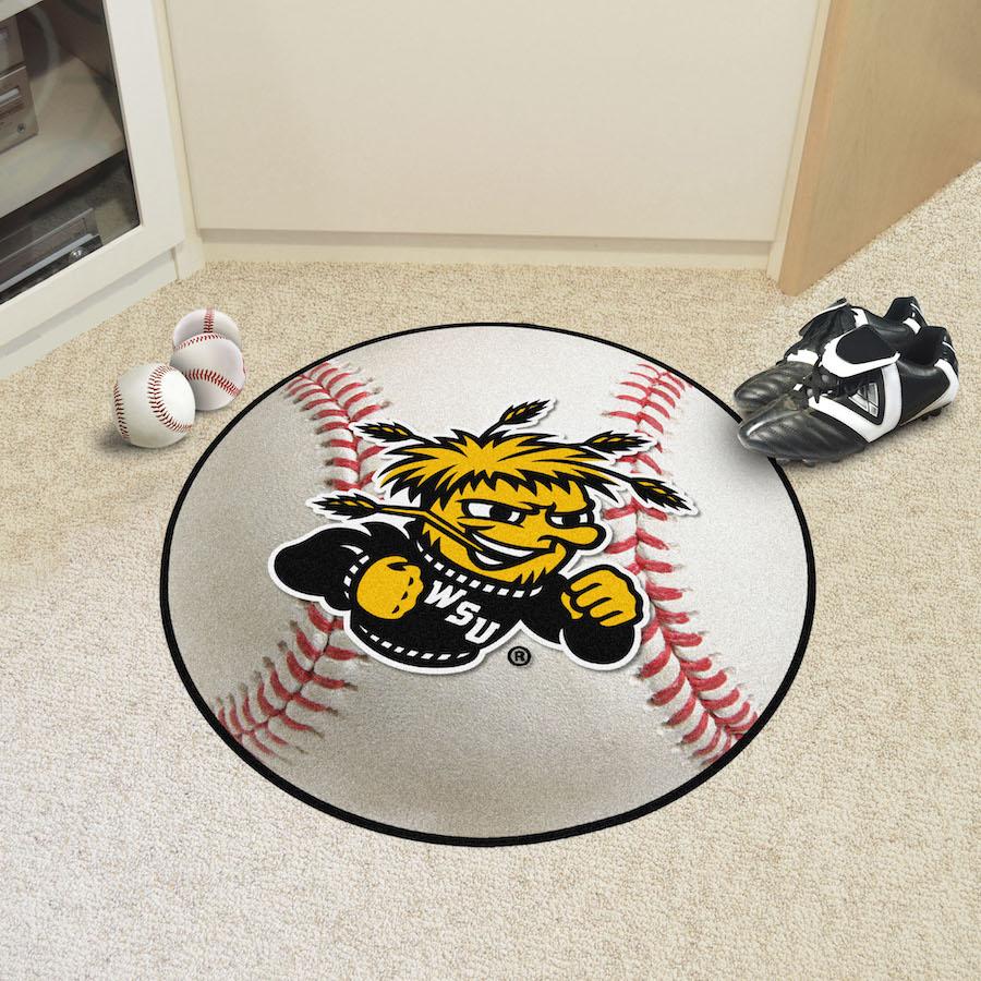 Wichita State Shockers Baseball Floor Mat