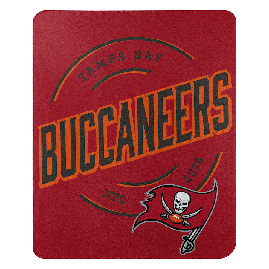 Tampa Bay Buccaneers Fleece Throw Blanket 50 x 60