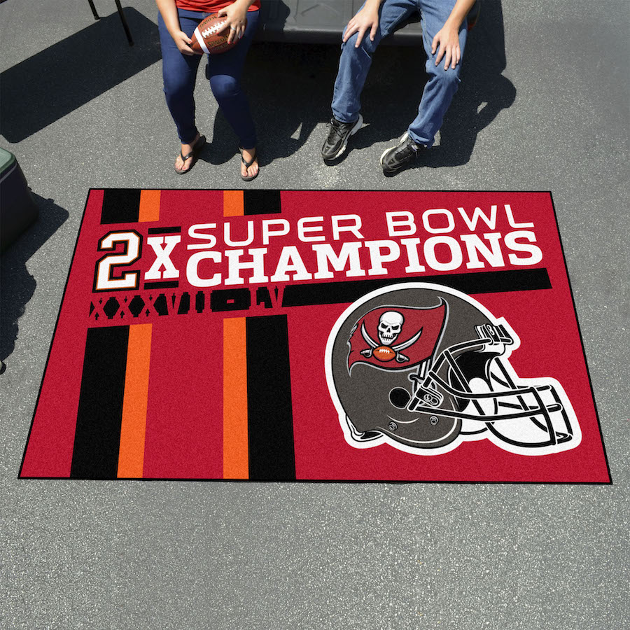 Tampa Bay Buccaneers Super Bowl DYNASTY 60 x 96 ULTI-MAT Floor Mat