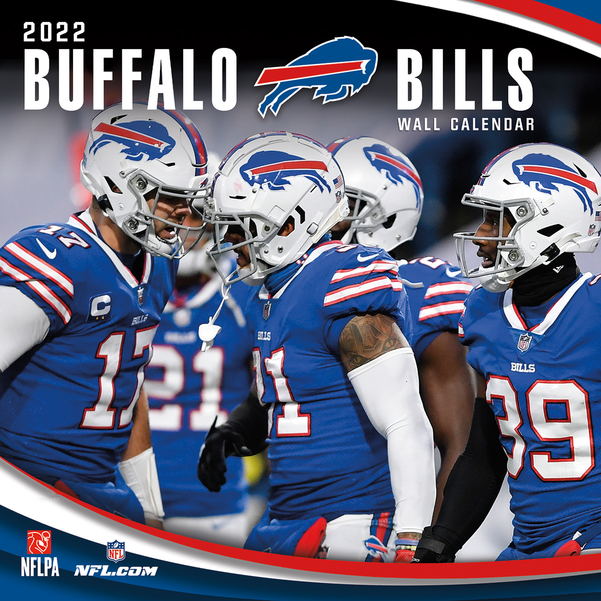 Buffalo Bills 2018 NFL Wall Calendar
