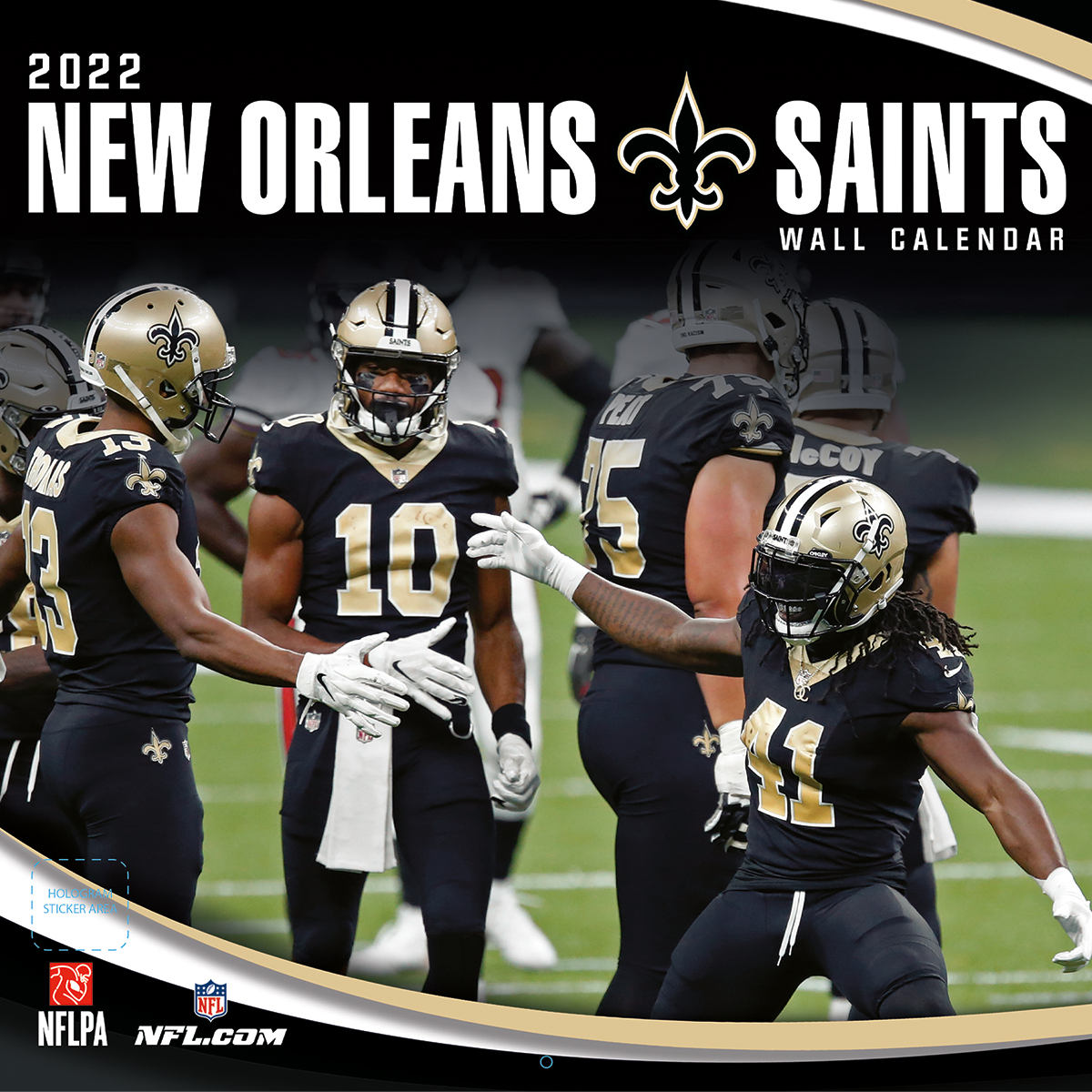 New Orleans Saints 2018 NFL Wall Calendar