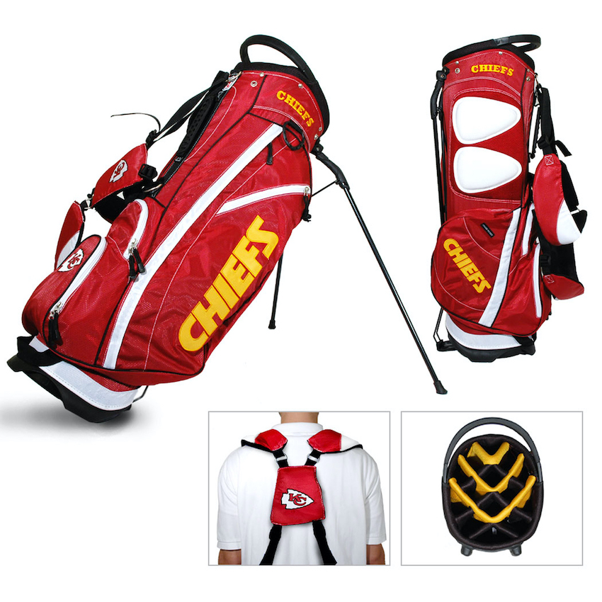 Kansas City Chiefs Fairway Carry Stand Golf Bag