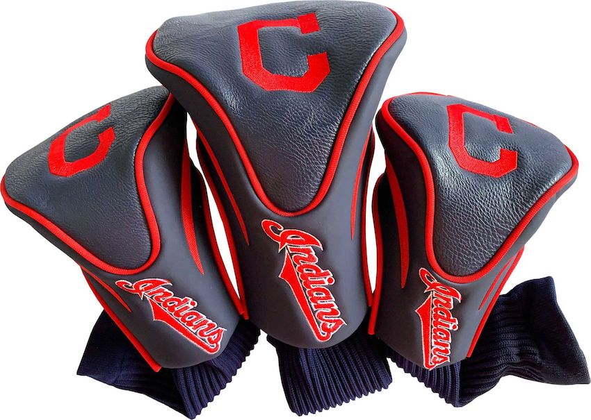 Cleveland Indians 3 Pack Contour Headcovers