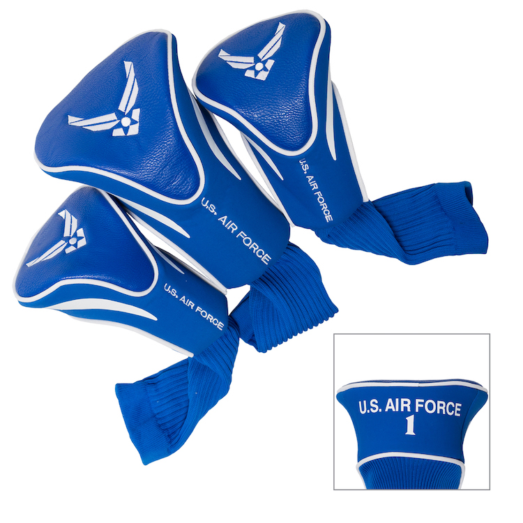 Air Force Falcons 3 Pack Contour Headcovers