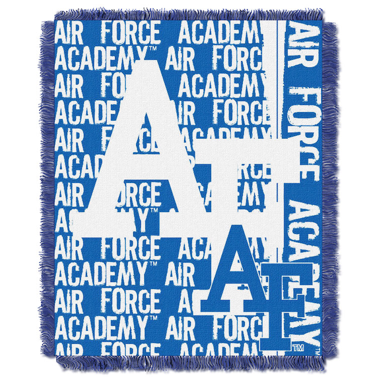Air Force Falcons Double Play Tapestry Blanket 48 x 60