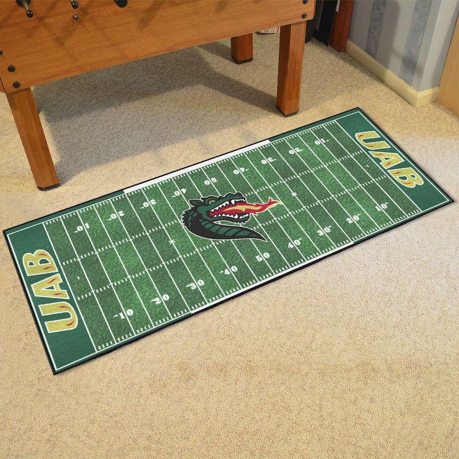 Alabama Birmingham Blazers 30 x 72 Football Field Carpet Runner
