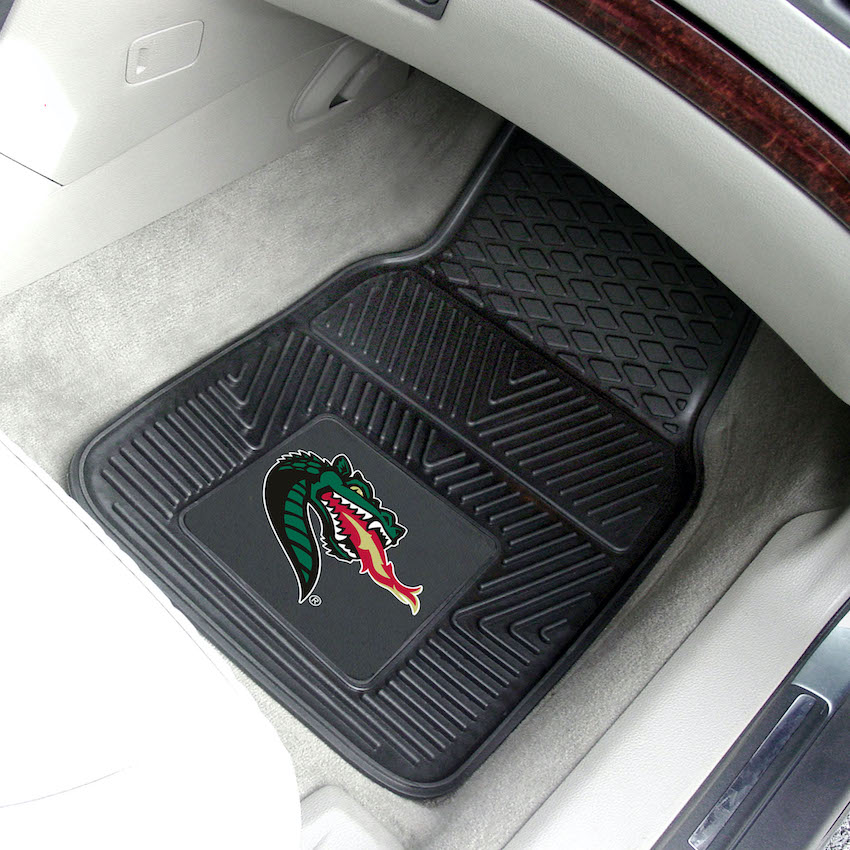 Alabama Birmingham Blazers Car Floor Mats 18 x 27 Heavy Duty Vinyl Pair