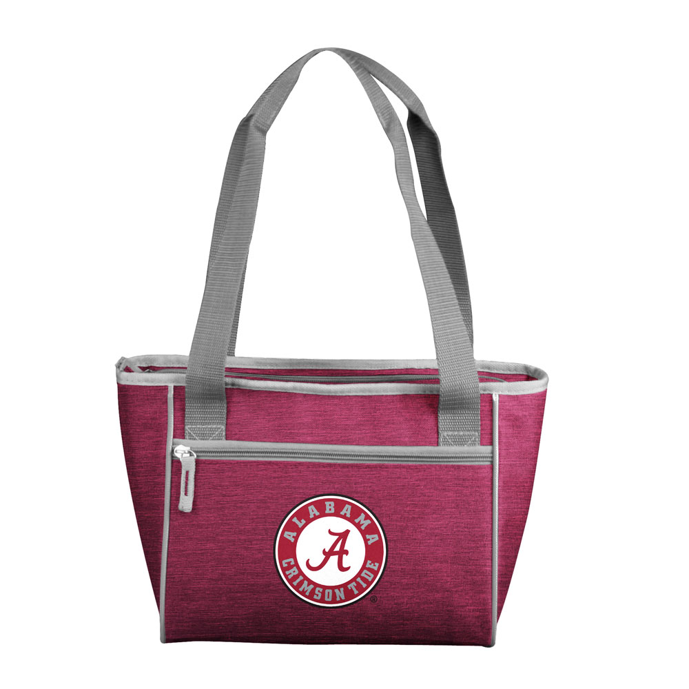 Alabama Crimson Tide Crosshatch 16 Can Cooler Tote