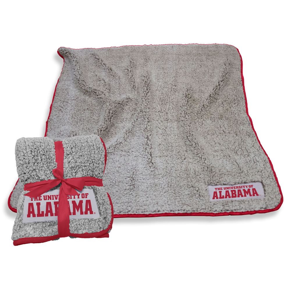Alabama Crimson Tide Frosty Throw Blanket