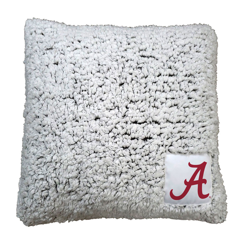 Alabama Crimson Tide Frosty Throw Pillow