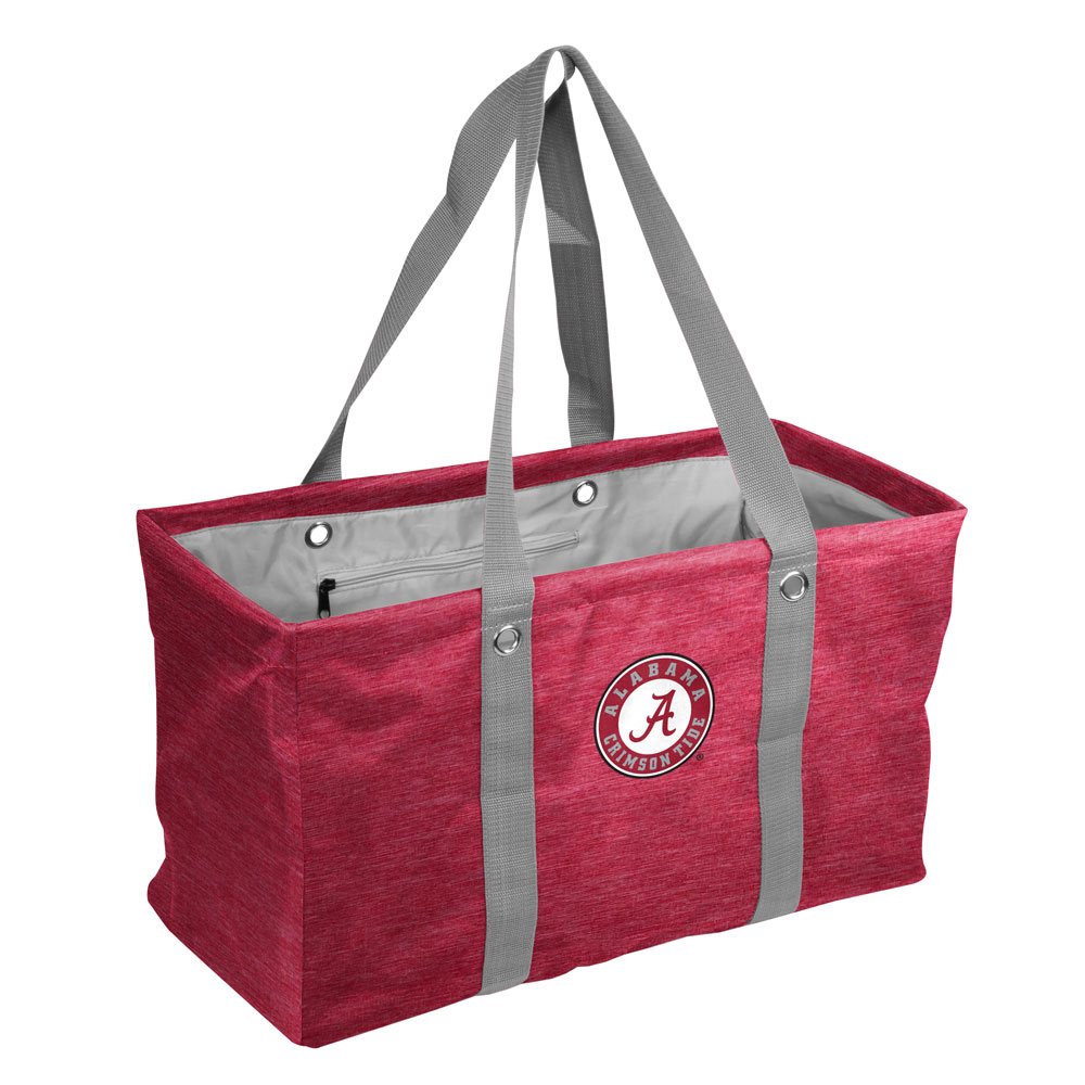 Alabama Crimson Tide Crosshatch Picnic Caddy
