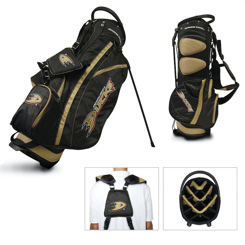 Anaheim Ducks Fairway Carry Stand Golf Bag