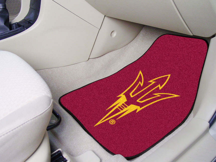 Arizona State Sun Devils Pitchfork Carpeted Car Floor Mats