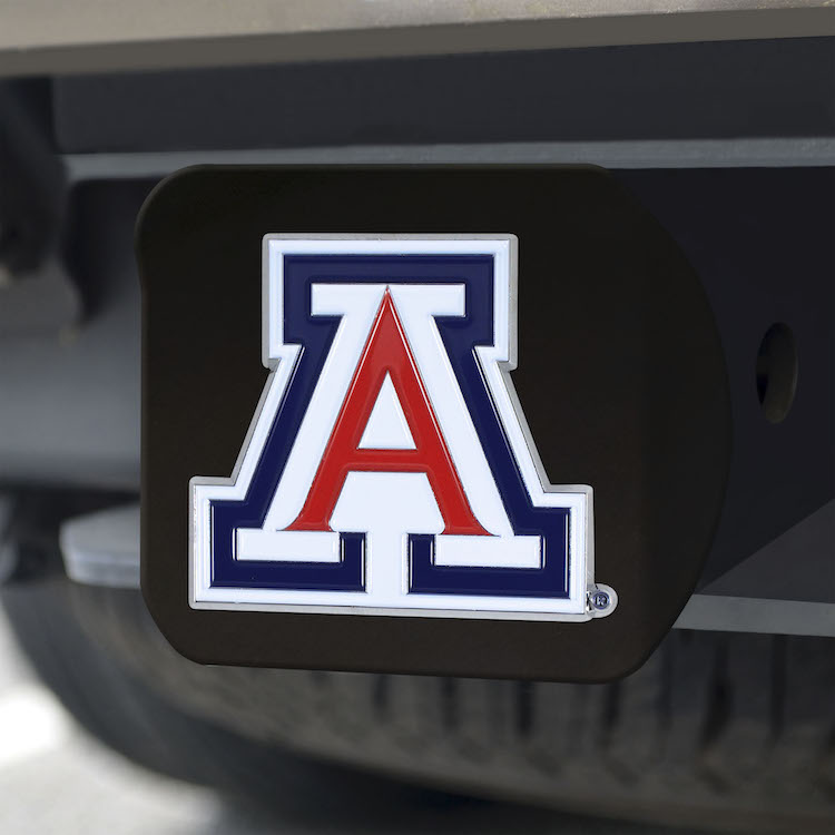 Arizona Wildcats Black and Color Trailer Hitch Cover