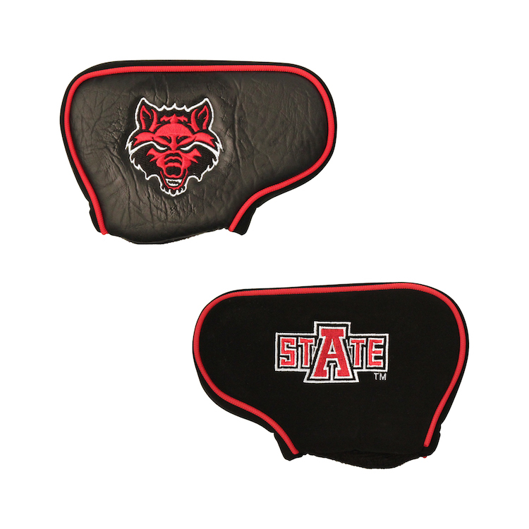 Arkansas State Red Wolves Blade Putter Cover