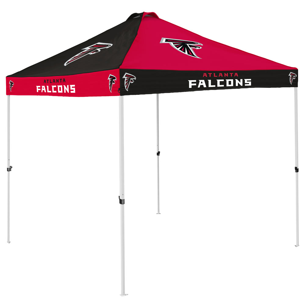 Atlanta Falcons Checkerboard Tailgate Canopy