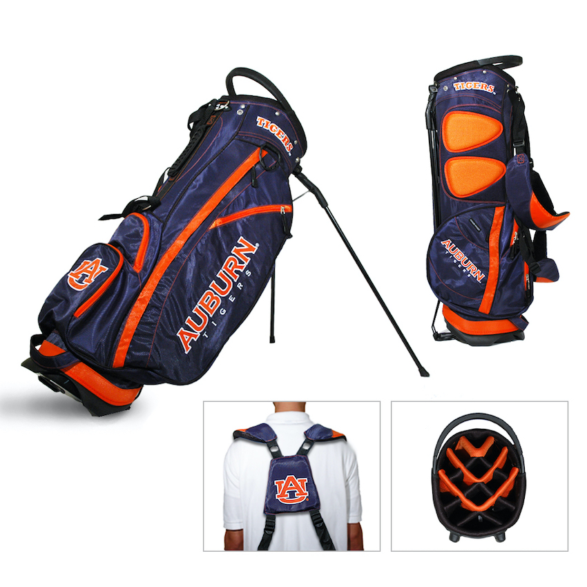 Auburn Tigers Fairway Carry Stand Golf Bag