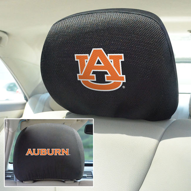 Auburn Tigers Head Rest Covers