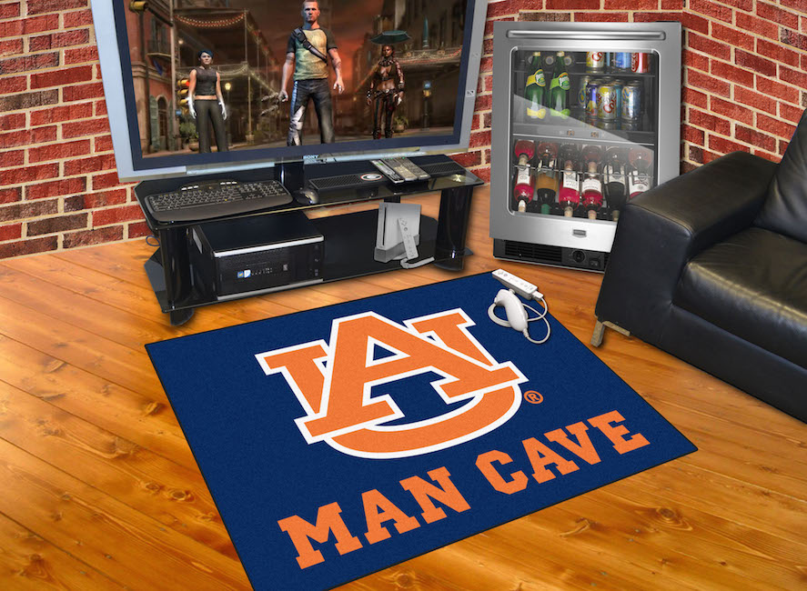 Auburn Tigers ALL STAR 34 x 45 MAN CAVE Floor Mat