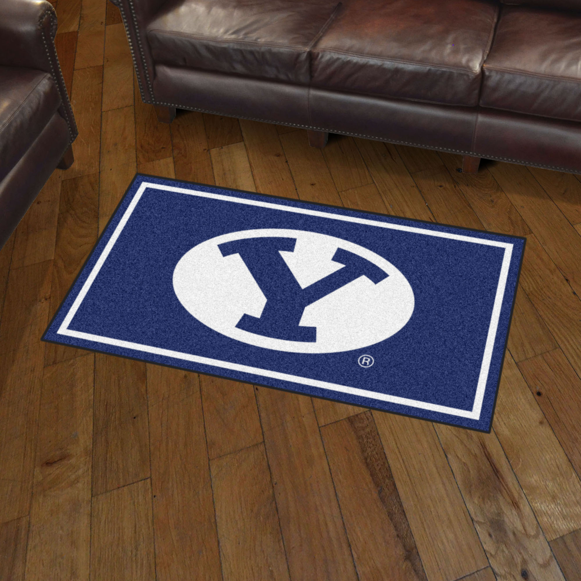 BYU Cougars 3x5 Area Rug